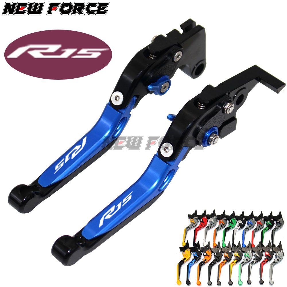 Für Yamaha YZF R125/R15 2015 MT125 2015-2017 157 Neue CNC Art-schwarz-einsteller Bremskupplungshebel