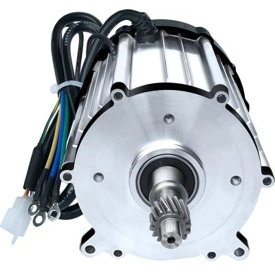 DC48V/60V/72V 1500W 3200rpm Small DC magnetic brushless motor / differential motor / electric scooter motor
