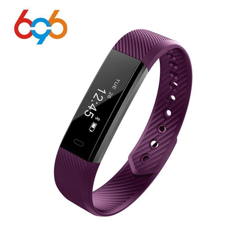 Smart Fitness Armband ID115 Sportuhr Passometer Tracker Smart Band Wecker Vibration Bluetooth Armband für Android