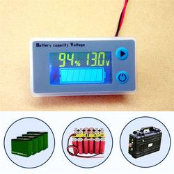 10-100 V LCD Ménage Batterie Test Voltmètre JS-C33 Voiture Acide Plomb Batterie Au Lithium Capacité Indicateur Universel Numérique Tension