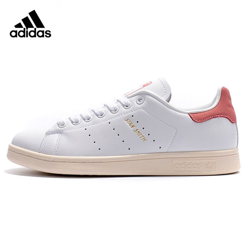 Adidas Clover STAN SMITH Men and Woman Walking Shoes ,White ,Wear-resistant Lightweight Breathable S80024