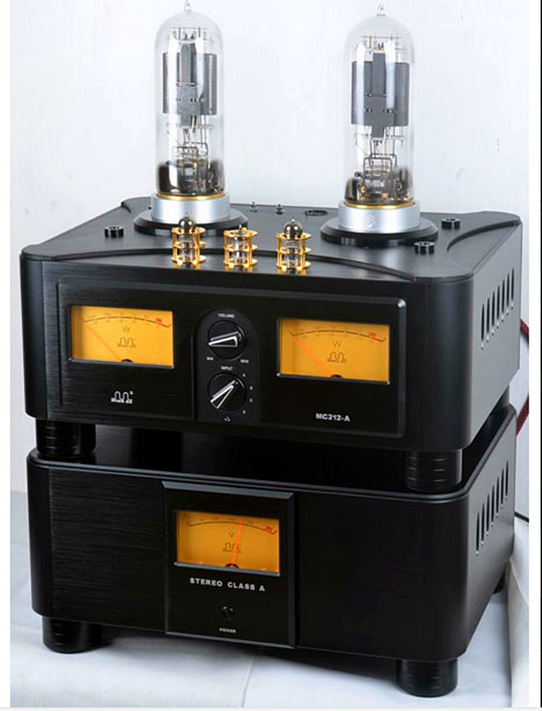 Meixing mingda MC 212-A HIFI Vacuum Tube integrated Amplifier PSVANE replica WE212*2 power: 50W * 2