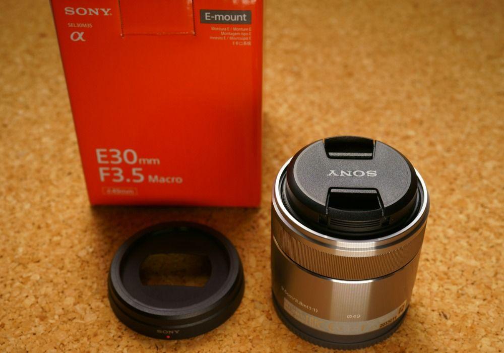 Sony E 30mm f/3.5 Macro Lens SEL30M35 For A5000 A5100 A6000 A6300 A6500 A7S A7R
