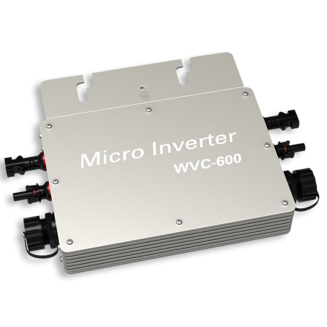 Waterproof Grid Tie Inverter 600W 24V to 230V MPPT Function for Solar Panel Dd