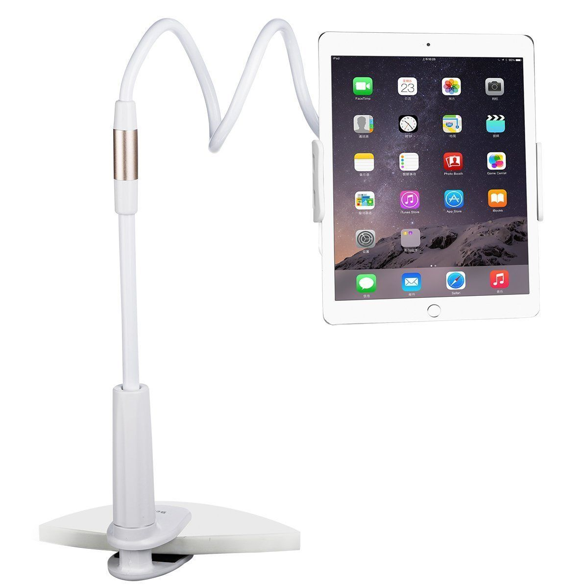 Phone Holder and Tablet Stand Bracket for 4 to 10.1 Inch 360 Degree Rotating 1000mm/750mm Lazy Mount for iPad iPhone Samsung