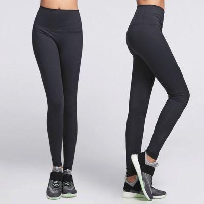Eshtanga Femmes Yoga leggings super qualité Haute Taille Élastique Solide 4-way Stretch Skinny Pantalon 4 Couleurs Disponibles Taille XXS-XL