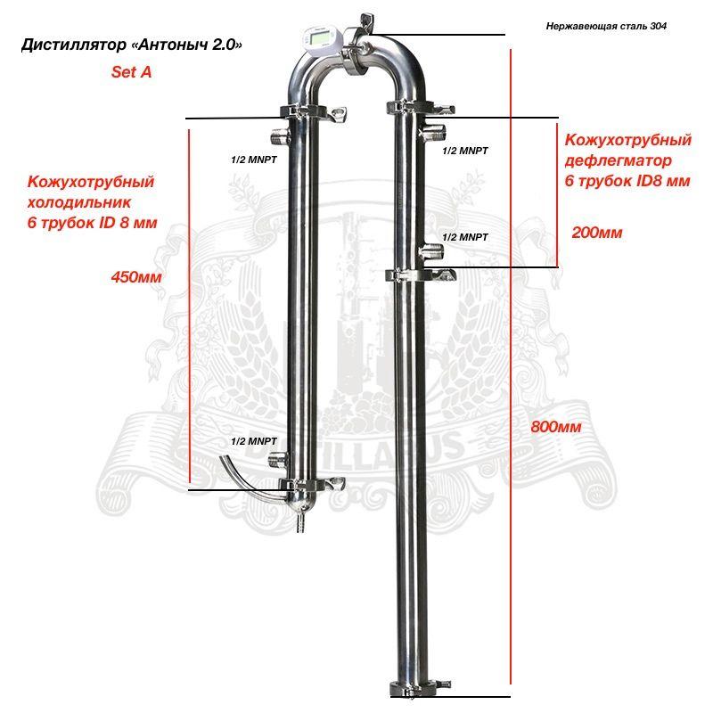 NEUE Menschen der brennerei Antonich 2,0 durchmesser 2 (51mm)
