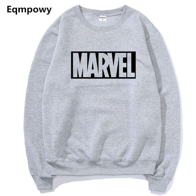 2017 New Brand Marvel Hoodies men high quality Long sleeves Casual men Sweatshirt Hoodies marvel print Hoodie Tracksuits male
