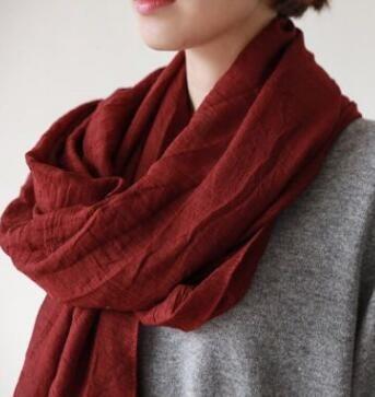 2018 новый Этнический стиль туризма чистый цвет дикого хлопка шарф пляжное полотенце дамы шарф солнцезащитный крем шаль
