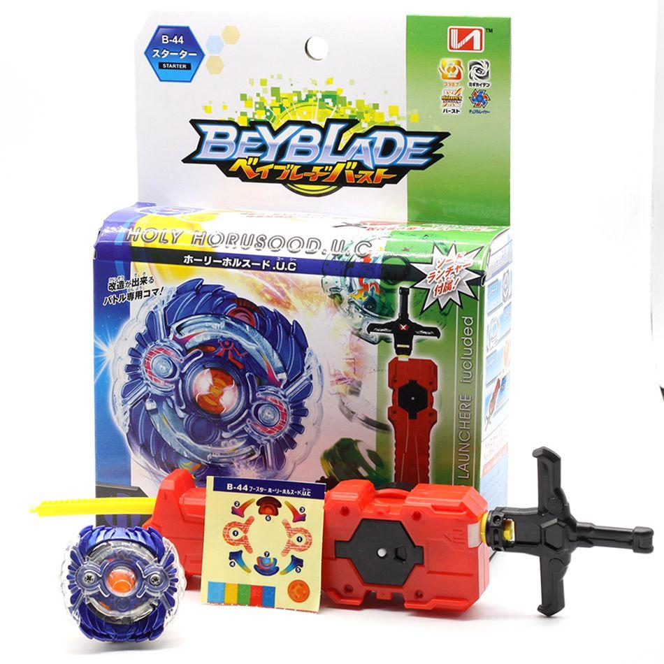 New Beyblade Burst B-48 B-66 B-34 B-35 B-41 B-59 B-44 Starter Zeno Excalibur .M.I (Xeno Xcalibur .M.I) with launcher kids toys