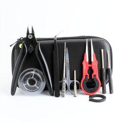 Bobina padre Mini Vape Kit de herramientas de pinzas alicates alambre banda Vape bobina algodón para X6 X6S cigarrillo electrónico accesorios