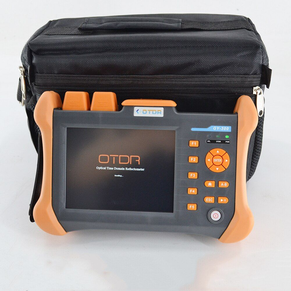 TMO-300-SM-A 28/26dB 1310/1550nm SM OTDR Tester Eingebaute 10 mW VFL Optical Fiber Test