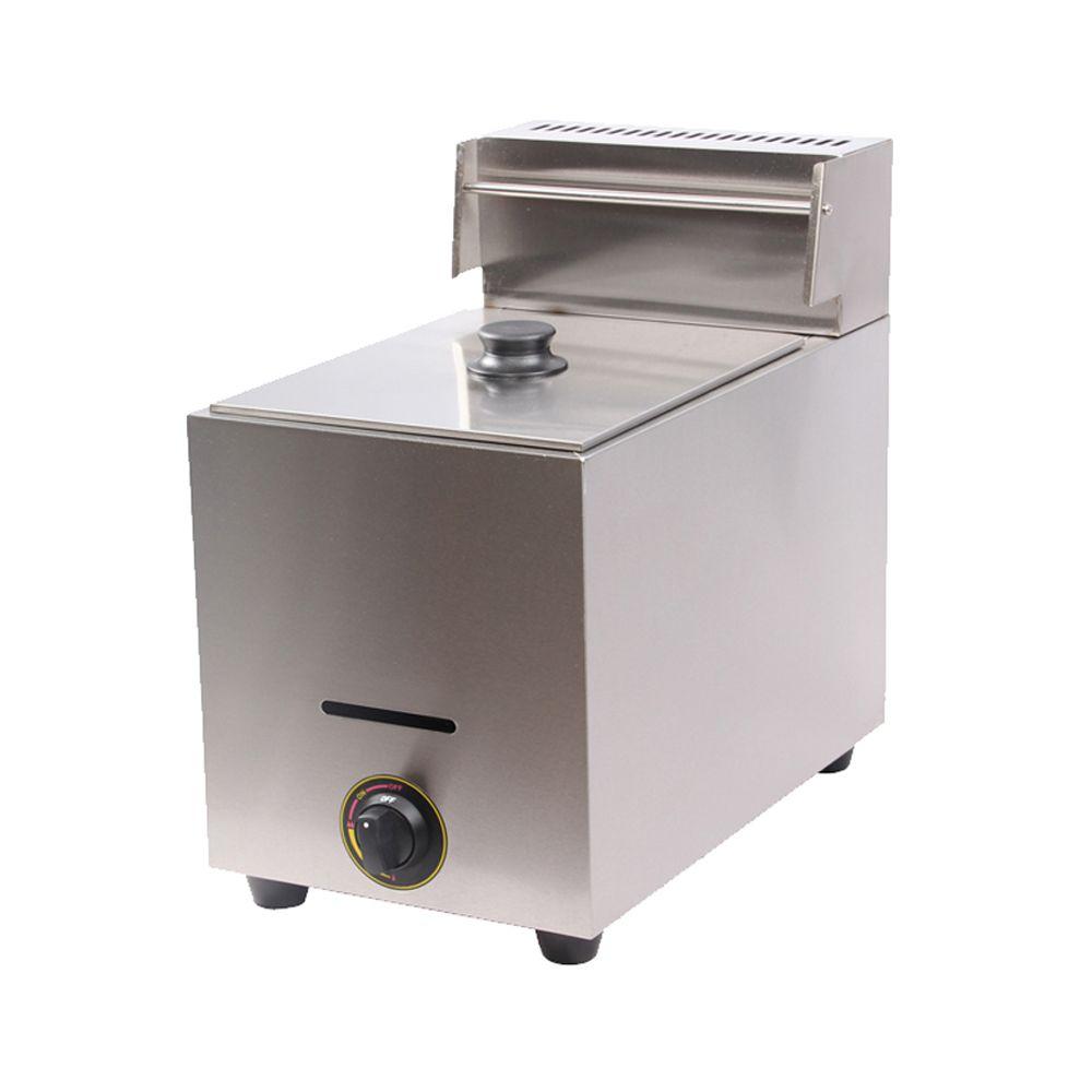 10L Single Tank Commercial Gas Deep Fryer_ Gas Fryer_ LPG Gas Deep Fat Fryer