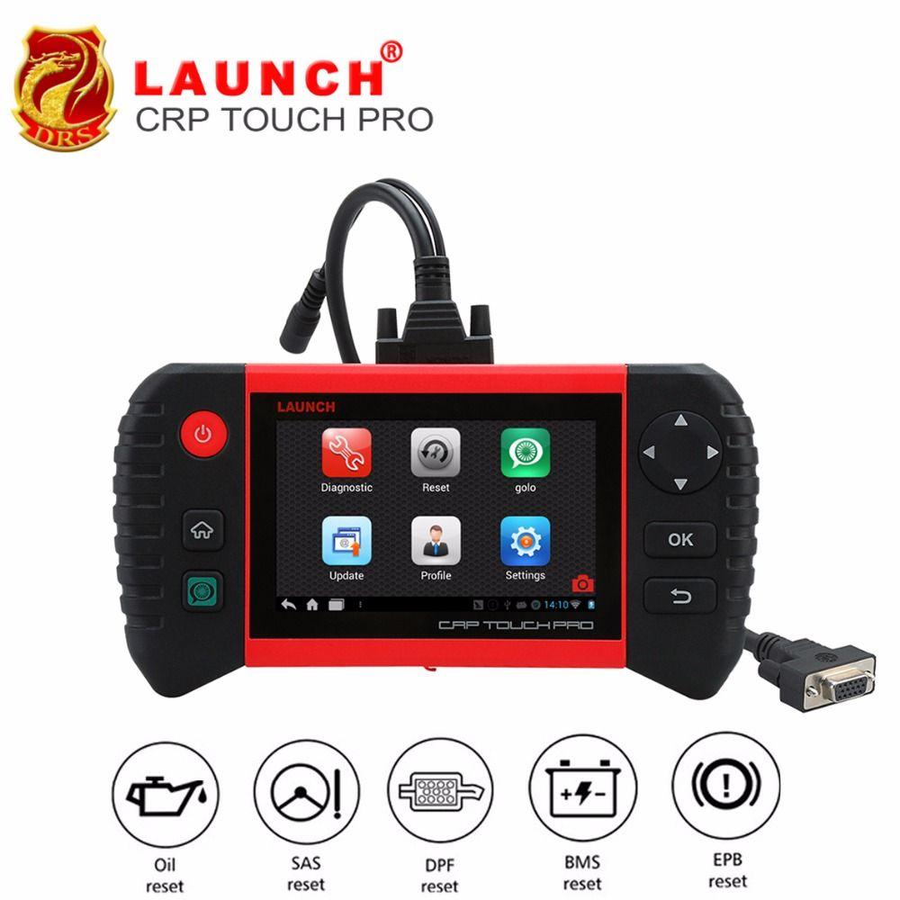 STARTEN Creader CRP Touch Pro Volle OBDII Alle System Scanner WiFi Diagnosescan-werkzeug SAS EPB BMS DPF Öl reset automotive Werkzeug