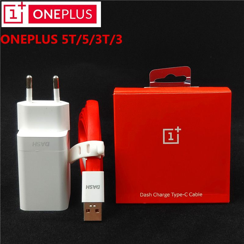 Original EU <font><b>ONEPLUS</b></font> 3t Dash Charger One Plus 6/5t/5/3 Dash Charge Adapter 100cm/150cm Red noodles USB 3.1 Type C Dash Cable