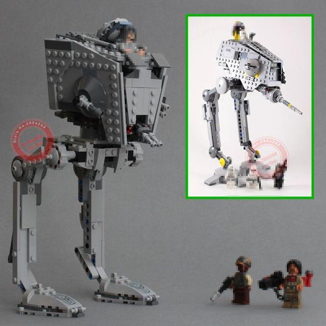 Nouveau The Rogue One imperial AT-ST Walker AT-DP fit legoings star wars figures modèle blocs de construction brique bricolage jouets cadeau enfant ensemble