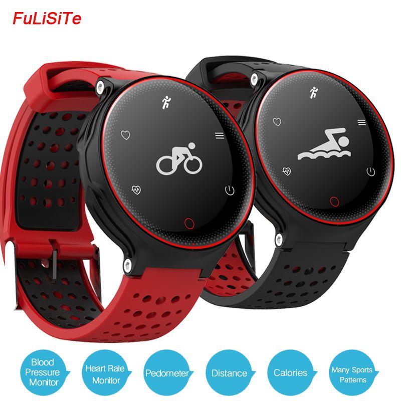 IP68 Wasserdicht X2 Sport Gesundheit Armband Blutdruck Pulsmesser Fit Band Lange Standby-Batterie Runde Fitness Uhren