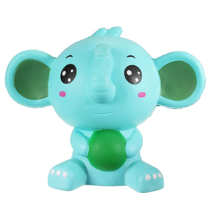 Best Deal For Squishy Elephant Jumbo 17cm Slow Rising With Packaging Collection Gift Decor Soft Toy Phone Straps