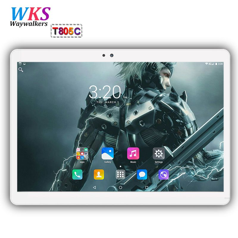 Free shipping 10 inch tablet PC Octa Core Android 7.0 RAM 4GB ROM 64GB Dual SIM Card WIFI Bluetooth Call phone Tablets MID+Gifts