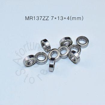 MR137ZZ 7*13*4 (мм) 10 штук Бесплатная доставка ABEC-5 подшипник из металла запечатанная миниатюра Мини подшипник MR137ZZ хромированные стальные подшипн...