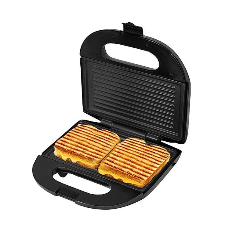 Multifunctional Electric Mini Sandwich Makers grilling Panini plate Waffle toaster breakfast machine barbecue oven EU plug