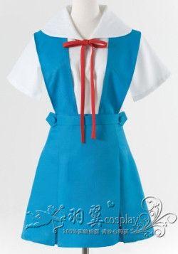 Néon Genesis evanion EVA AYANAMI REI/ASUKA costume de marin Cosplay japon uniformes A016