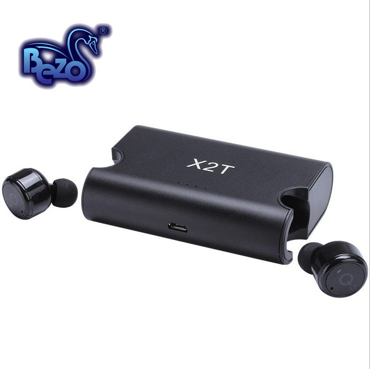 bezo x1t tws mini wireless ears bluetooth earphone in-ear music hifi Mega bass stereo active noise cancelling with mic general
