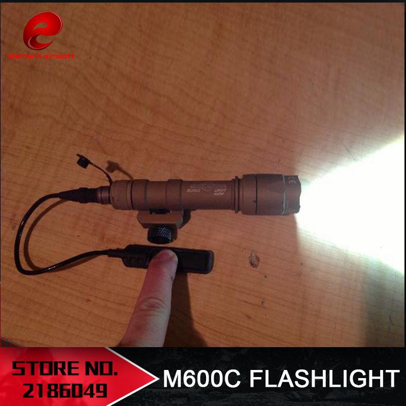 Element Airsoft Surefir M600C arme tactique Scout lumière LED 366 LumenTactical fusil lampe de poche Airsoft M600 série EX072