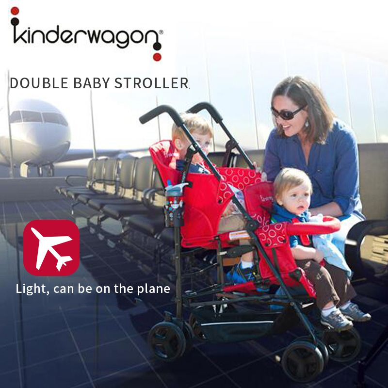 0-36 months newborn folding baby stroller Twins child baby stroller lightweight folding can sit lie portable USA baby stroller