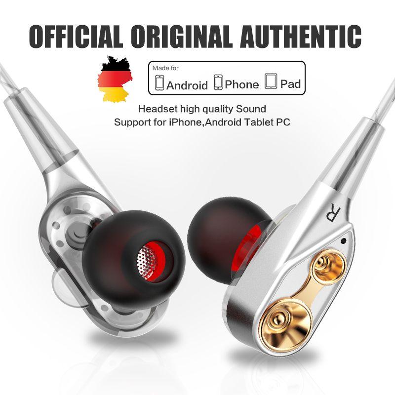 Original QKZ CK8 headset microphone Bass Earphone QKZ Technology Subwoofer Best Pc Gamer Eletronic Cell Phone fone de ouvido