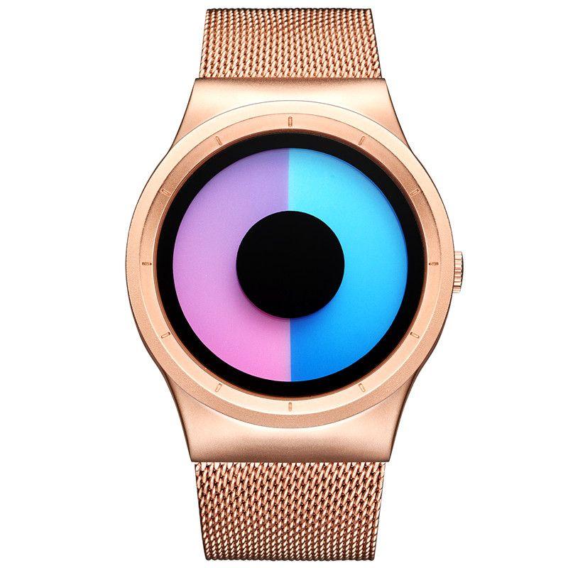 2017 Brand Luxury Full Stainless Steel Watch Men Business Casual Creative Quartz Watches Military Wristwatch Waterproof Relogio