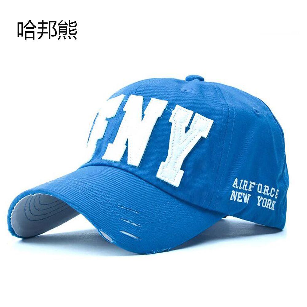 Hohe Qualität Gorras Hysteresenkappen Großhandel 2017 Mode Koreanischen Baseballmütze sonneschattierung hut AFNY frauen Sommer hut