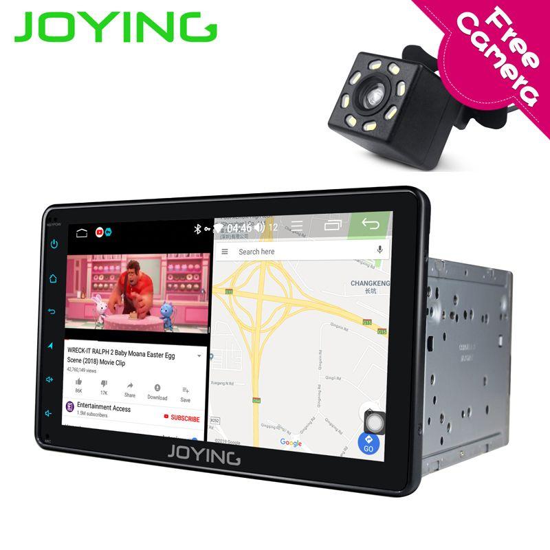 Joying Intel 2Din Android 8.1 1080 P Auto Stereo 8 zoll 8 core 4G RAM Intelligente System Navi Radio für toyota mit Reverse Kamera