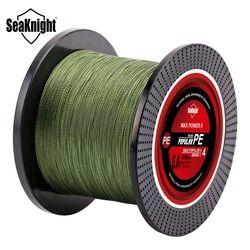 SeaKnight TP серия 1000 м 500 м 300 м леска 8-60LB плетеная леска гладкая Multifilament PE леска для морской рыбалки