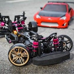 Gratis pengiriman rwd/4wd 3 racing drive 4wd drift bingkai cs d4 profesional rc cars