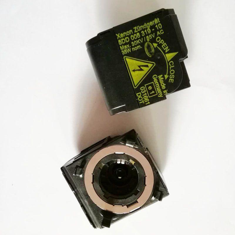 2 pcs 5DD 008 319-10 5DD 008 319-50 5DD008319-10 5DD008319-50 D2S D2R Xenon HID Headlight Starter Igniter Ignitor Socket