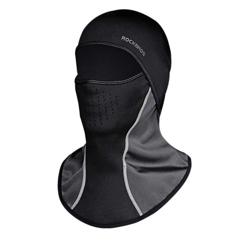Rockbros Winter Cycling Cap Windproof Thermal Face Mask Balaclava Bandana Sport Ski <font><b>Running</b></font> Bike Bicycle Neck Hat Head Scarf Men