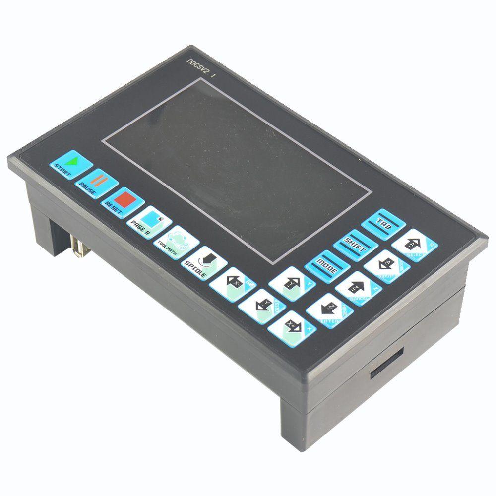 DDCSV2 / 4 axis 4 linkage motion controller / stepper motor and servo motor / NC / engraving machine / CNC offline