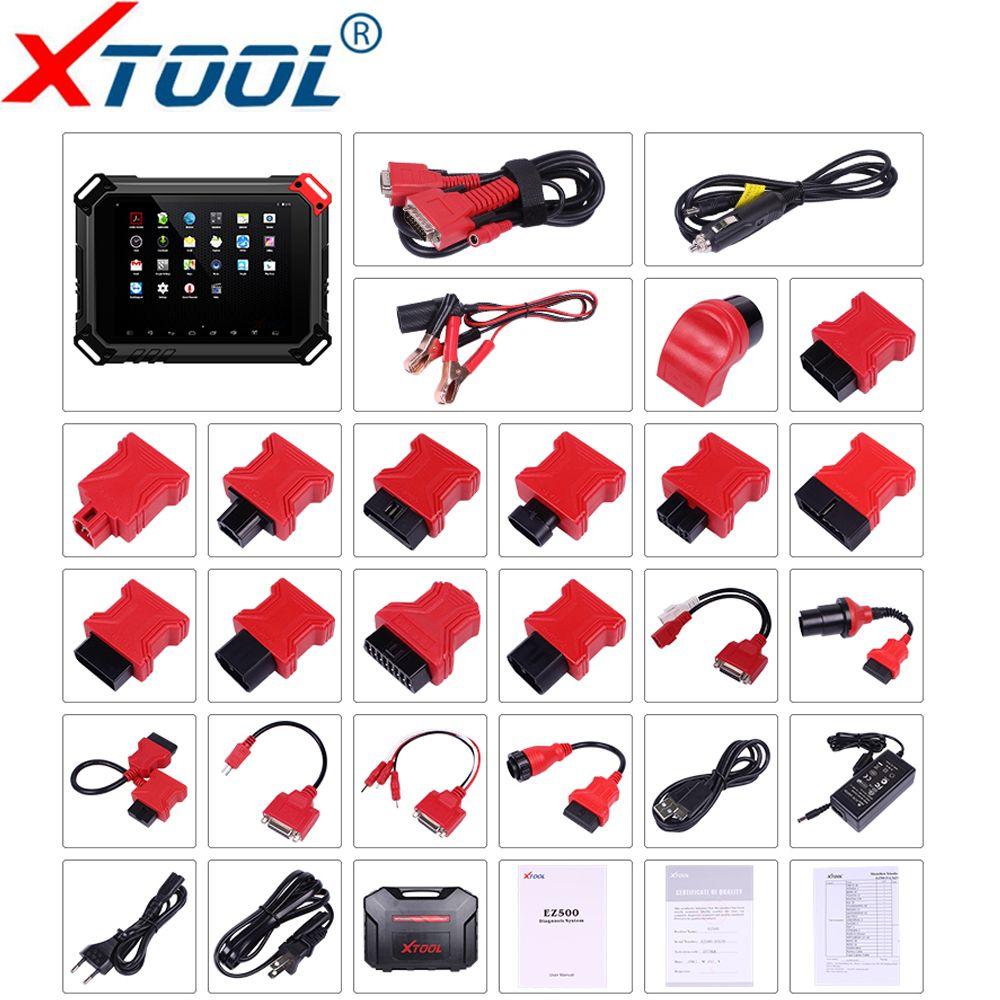XTOOL EZ500 Pro Full-System Diagnose werkzeug Benzin Fahrzeuge unterstützung Spezielle Funktion Gleiche Funktion Mit XTool PS80 Update kostenlos