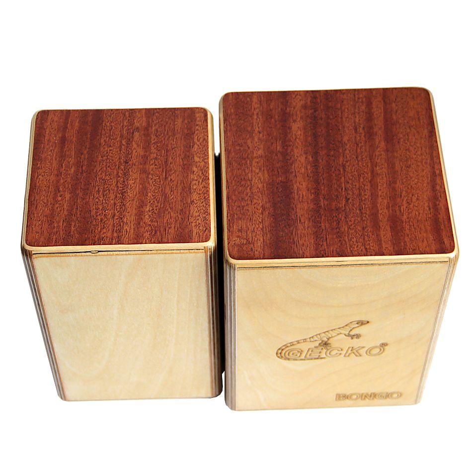 GECKO BONGO-2 CS087 Cajon Siamese Box Fässer/Hand Percussion Drum Instrumente