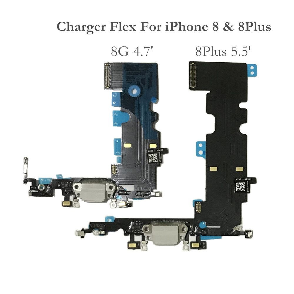 AYJ USB Charger Dock Connector For iPhone 8 Plus Headphone Audio Jack Parts for iPhone 8Plus 5.5' Charging Port Flex Cable