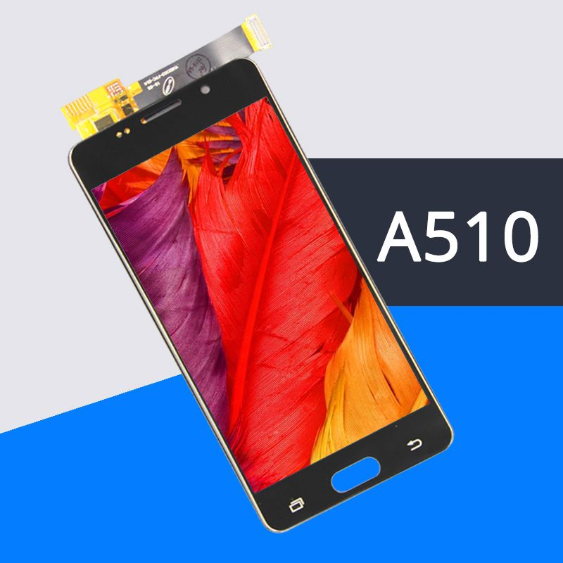 100%Test Grade AAA For A5 2016 LCD Display A510 A510F A510M Replacement Touch Screen Digitizer Assembly Display