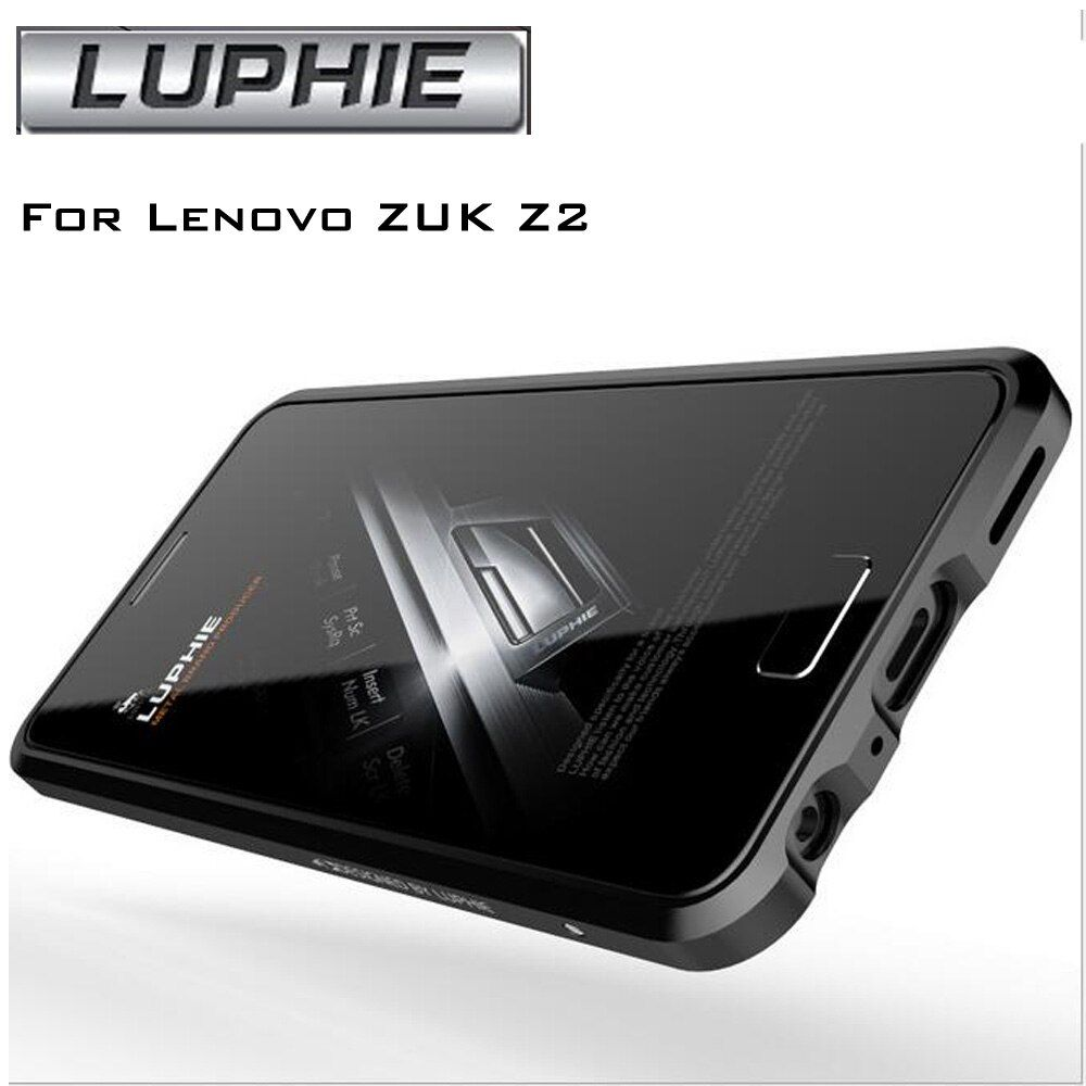 Luxury For Lenovo ZUK Z2 5.0 '' Original Luphie Aluminum Metal Bumper Case Frame Cover Metal ZUK Z2 Phone Cases