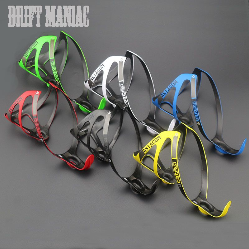 Drift Maniac Full Carbon Fiber Bicycle Water Bottle Cage MTB <font><b>Road</b></font> Bike Bottle Holder Ultra Light Cycling Can Bike Accessories