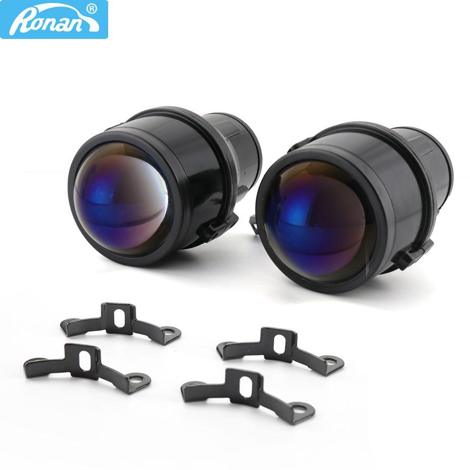 RONAN 2.5 Bi xénon projecteur lentille bleue CNH11 lampe similaire T-W lentilles de brouillard voiture style rénovation auto phares