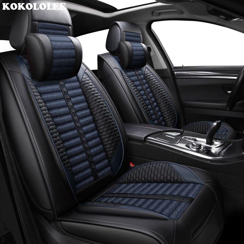 KOKOLOLEE Auto sitzbezüge für Volkswagen Alle Modelle polo golf tiguan Passat jetta touran touareg vw Phaeton Arteon