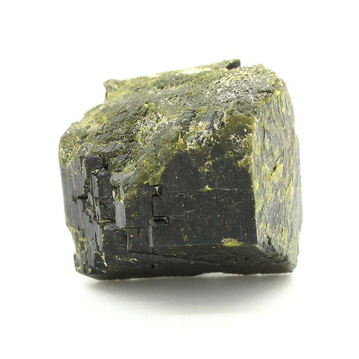 Epidote single crystal rare natural stone mineral crystal specimens teaching specimens specimen strong djls27