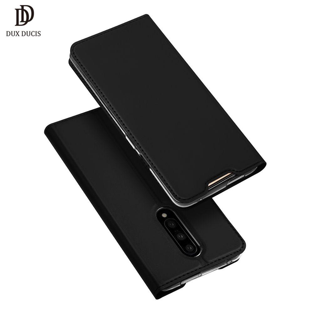 DUX DUCIS PU étui à rabat en cuir pour Oneplus 7 Pro portefeuille téléphone housse pour Oneplus 7 Pro étui Oneplus 7 Pro one plus 7 7Pro Funda