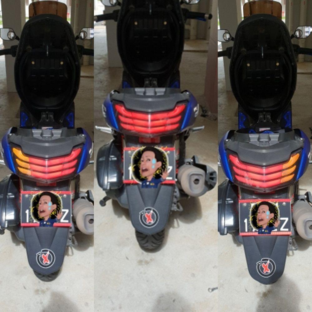 Modifié moto pièces Feux Arrière HID feu arrière LED feu arrière feu arrière pour YAMAHA NMAX 155 NMAX155 NMAX125 2016 2017 2018