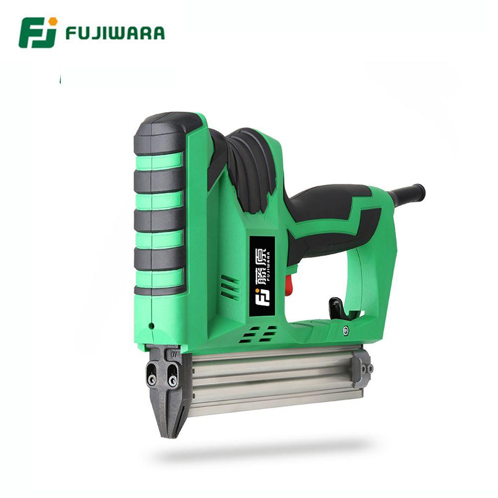FUJIWARA 2200 W Elektrische Nagel Pistole Holzbearbeitung Nageln Werkzeug F10-F30 Nägel Hause DIY Zimmerei Dekoration
